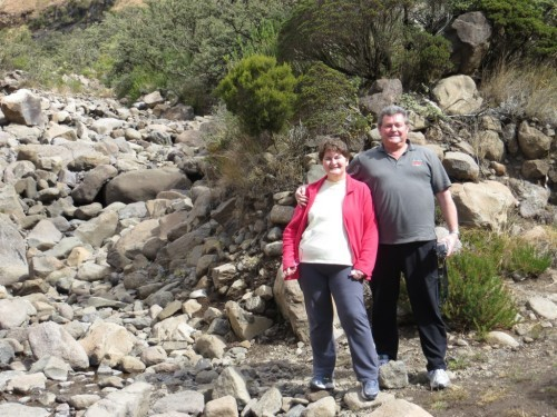 Cliff & Annette Hallam