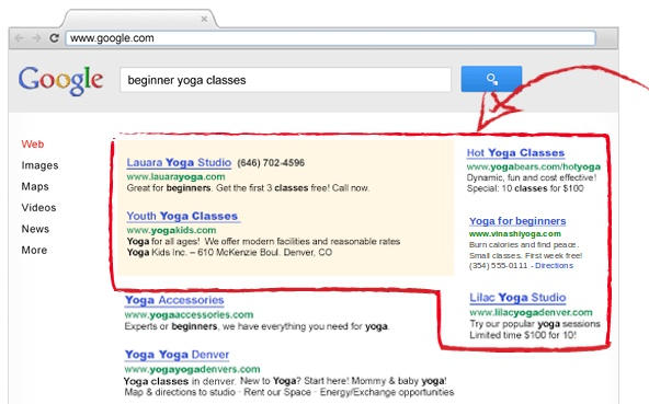 AdWords on Google