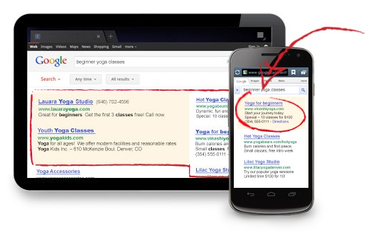 AdWords on Mobile Devices